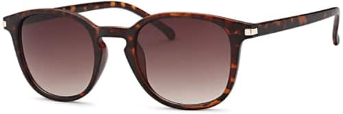 brown classic fashion sunglasses