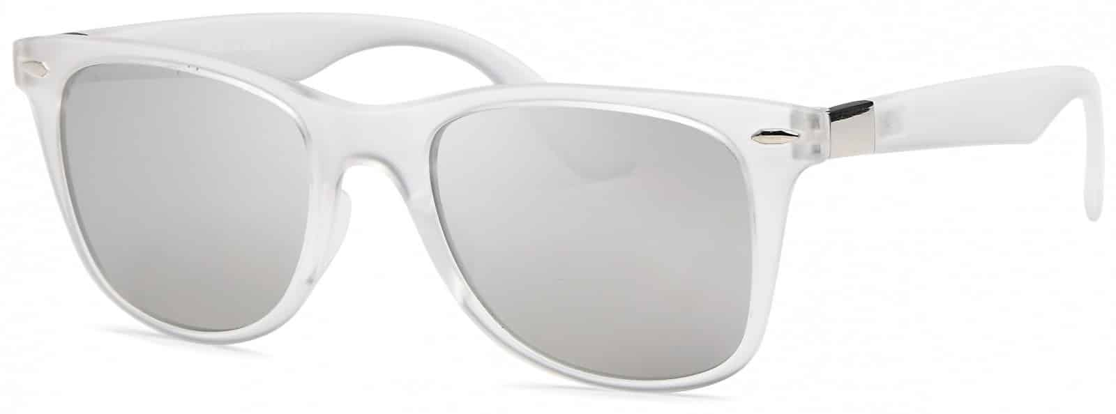 White Wafer Sunglasses