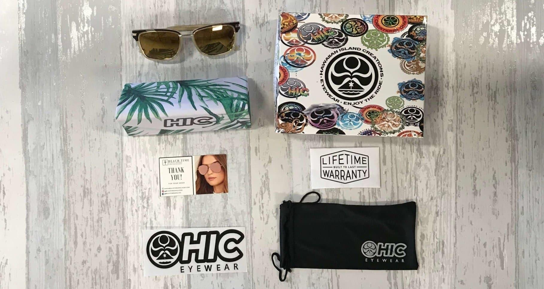 HIC MAE premium polarized sunglasses