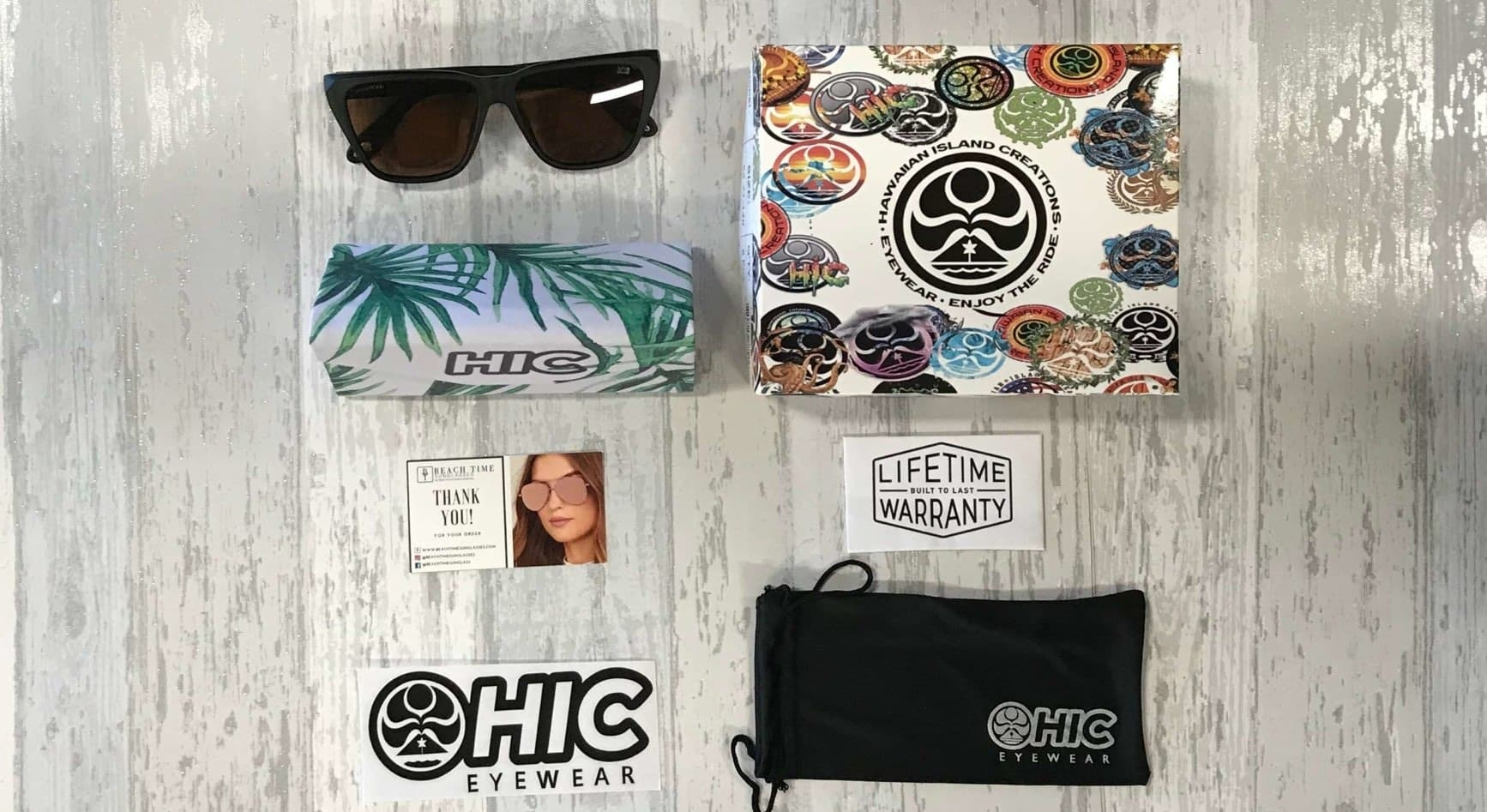 polarized sunglasses - HIC THEA