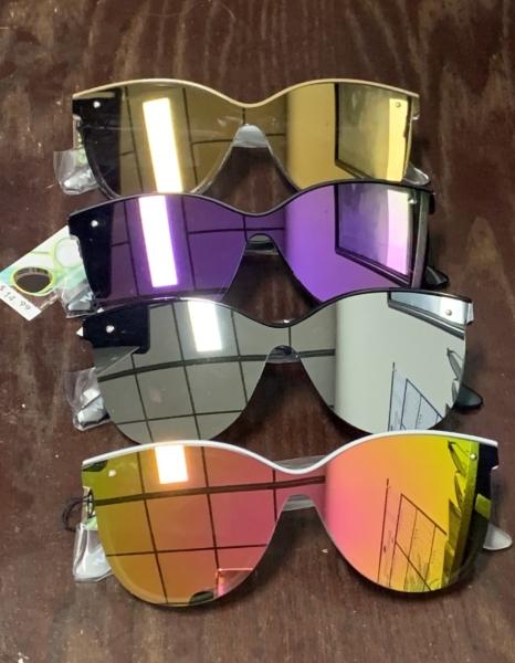 Vibrant mirror lenses